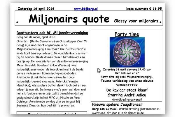 Miljonairs Quote